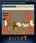 Mummification procedure