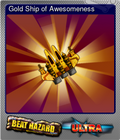 Gold Ship of Awesomeness