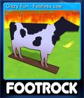 Crazy Fun - Fearless cow