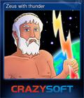 Zeus with thunder