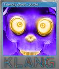 Friendly ghost - purple