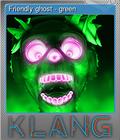 Friendly ghost - green