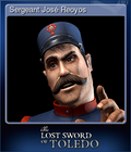 Sergeant José Reoyos