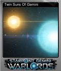 Twin Suns Of Gemini