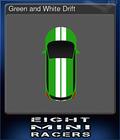 Green and White Drift