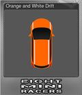 Orange and White Drift