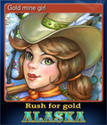 Gold mine girl