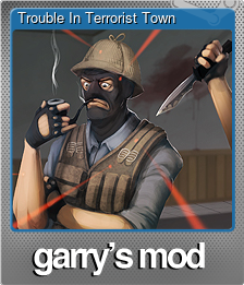 Trouble In Terrorist Town (Foil Trading Card)