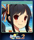 Ayumi on the beach