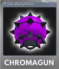 Purple WorkerDroid