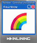 Rainbow - Controlled Unclassified