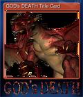 GOD's DEATH Title Card