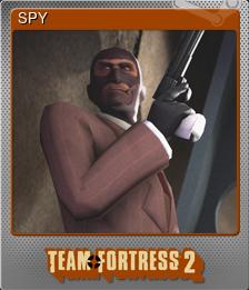 SPY (Foil Trading Card)