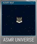 ASMR Wolf