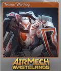 'Nexus' Warthog