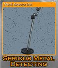 Metal detector low