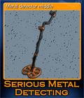 Metal detector middle