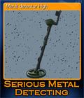 Metal detector high