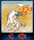 the sun god Amaterasu