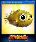 Spike the Puffer Fish