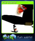 Poor Snowman