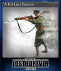 A Pal Lost Forever