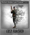 British Soldier Lost Forever
