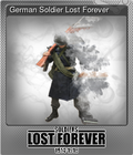 German Soldier Lost Forever