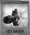 Renault FT Lost Forever