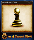Gold Pawn Card