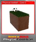 Physical football - Card 3