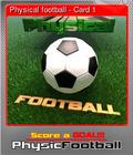 Physical football - Card 1