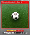 Physical football - Card 5