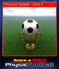 Physical football - Card 4