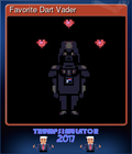 Favorite Dart Vader