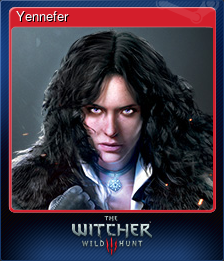Yennefer (Trading Card)