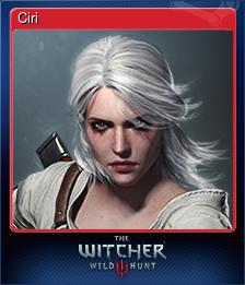 Ciri (Trading Card)