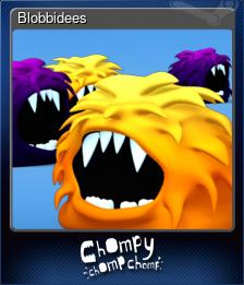 Blobbidees (Trading Card)