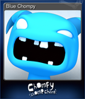 Blue Chompy