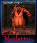 Foul Beast Vampire