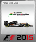 Force India Card