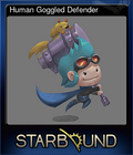 Human Goggled Defender