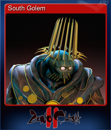 South Golem (Trading Card)