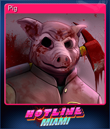 Pig (Trading Card)