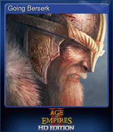 Going Berserk (Trading Card)