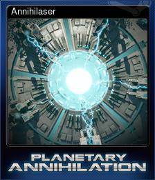 Annihilaser (Trading Card)