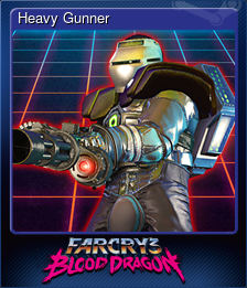 Heavy Gunner (Trading Card)