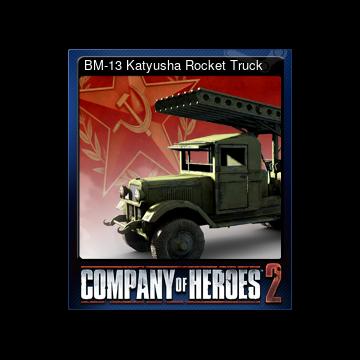 Steam Community Market :: Listings for 231430-BM-13 Katyusha
