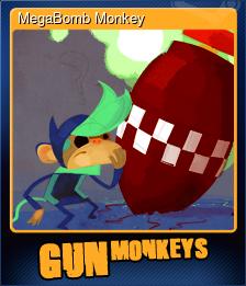 MegaBomb Monkey (Trading Card)
