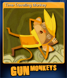 Time-Travelling Monkey (Trading Card)